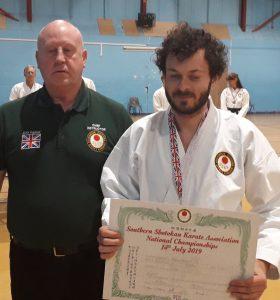 Individual Kata Winner, 3rd Place