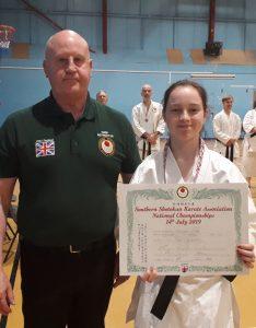 Individual Kata Winner, 2nd Place
