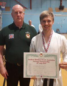 Individual Kata Winner, 1st Place