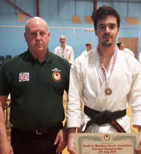 Individual Kumite Winner 2019