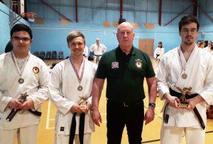 Individual Kumite Winners